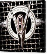 1931 Cadillac Emblem Acrylic Print