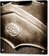 1931 Ford Grille Emblem Acrylic Print