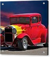 1931 Ford 'model A' Coupe Acrylic Print