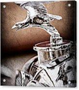 1932 Alvis Hood Ornament - Emblem Acrylic Print