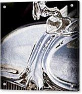 1933 Chrysler Imperial Hood Ornament - Emblem Acrylic Print