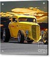 1933 Ford Hiboy Coupe Acrylic Print