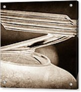 1934 Chevrolet Hood Ornament Acrylic Print