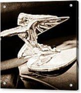 1935 Packard Hood Ornament - Goddess Of Speed Acrylic Print