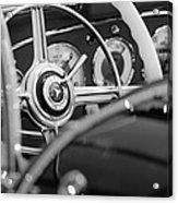1936 Mercedes-benz 540 Special Roadster Steering Wheel Acrylic Print