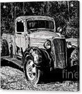1937 Chevy Wrecker Acrylic Print