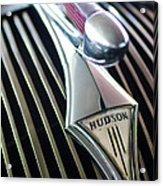 1937 Hudson Terraplane Sedan Hood Ornament Acrylic Print