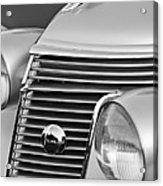 1937 Studebaker Grille  Acrylic Print