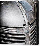 1938 Chevrolet Hood Ornament - Emblem Acrylic Print