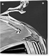 1938 Dodge Hood Ornament Acrylic Print