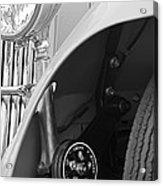 1939 Aston Martin 15-98 Abbey Coachworks Swb Sports Suspension Control Acrylic Print