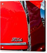 1939 Ford Grille Acrylic Print