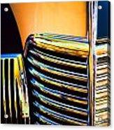 1939 Studebaker Champion Grille Acrylic Print
