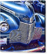 1940 Chevy Grill Acrylic Print