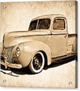 1940 Ford Pickup Acrylic Print