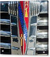 1941 Buick Eight Special Emblem Acrylic Print