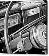 1941 Packard Steering Wheel Acrylic Print
