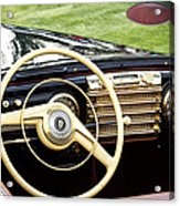 1942 Lincoln Acrylic Print