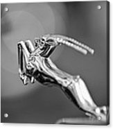 1948 Chrysler Town And Country Convertible Hood Ornament Acrylic Print