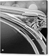 1948 Pontiac Streamliner Woodie Station Wagon Hood Ornament Acrylic Print