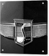 1948 Studebaker Emblem Acrylic Print