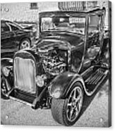 1949 Ford Pick Up Truck Bw Acrylic Print