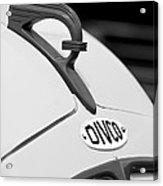 1950 Divco Milk Truck Hood Ornament Acrylic Print