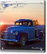 1951 Chevy Pick Up Acrylic Print