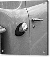 1951 Ford F1 Pickup Truck Bw Acrylic Print