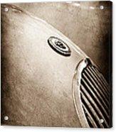 1951 Jaguar Grille Emblem Acrylic Print