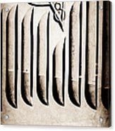 1951 Mercury Custom Emblem Acrylic Print