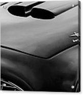 1952 Ferrari 212 225 Barchetta Hood Emblems Acrylic Print