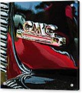 1952 Gmc Suburban Emblem Acrylic Print