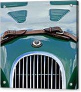1952 Jaguar Xk 120 John May Speciale Grille Emblem Acrylic Print