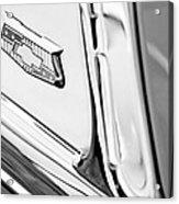 1953 Chevrolet Belair Convertible Emblem Acrylic Print