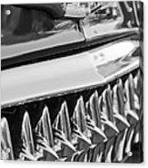 1953 Chevrolet Grille Emblem Acrylic Print