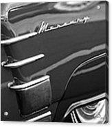 1953 Mercury Monterey Wheel Emblem Acrylic Print