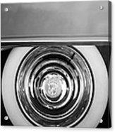 1954 Cadillac Coupe Deville Wheel Emblem Acrylic Print