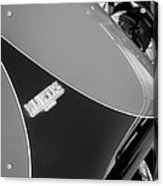 1954 Kurtis-kraft 500s Continuation Hood Emblem Acrylic Print