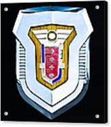 1955 Mercury Montclair Convertible Emblem Acrylic Print