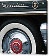 1955 Mercury Montclair Convertible Wheel Emblem Acrylic Print