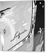 1955 Pontiac Safari Station Wagon Emblem Acrylic Print