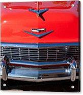 1956 Chevrolet Belair Convertible Custom V8 Acrylic Print