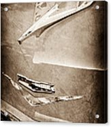 1956 Chevrolet Hood Ornament Acrylic Print