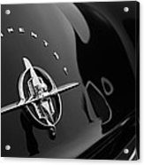 1956 Continental Mark II Coupe Rear Emblem Acrylic Print