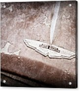 1957 Aston Martin Db2-4 Mkii Emblem Acrylic Print