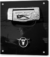 1957 Ford Custom 300 Series Ranchero Emblem Acrylic Print