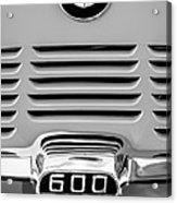 1959 Bmw 600 Isetta Emblem Acrylic Print