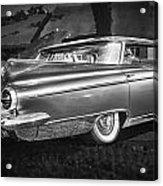 1959 Buick Electra 225 Bw Acrylic Print