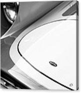 1959 Devin Ss Grille - Hood Emblem Acrylic Print